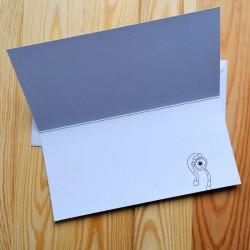 Sprachmonster Grußkarte Einladungskarte Weihnachten Innenseite