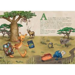 Sprachmonster Kinderbuch Das Monster ABC Innenseite A